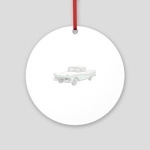 Ford Ranchero 1957 Ornament (Round)