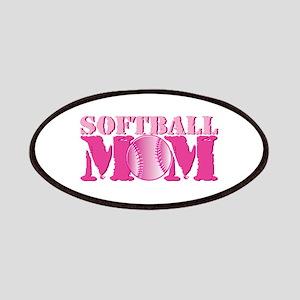 Softball Mom pink Patch