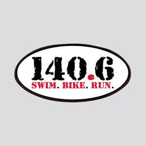 140.6 Swim Bike Run Patch