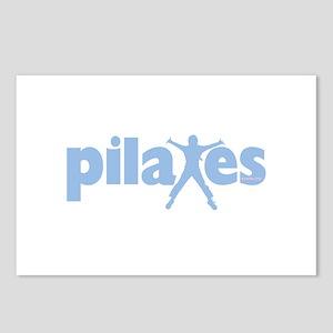 PIlates Baby Blue by Svelte.biz Postcards (Package