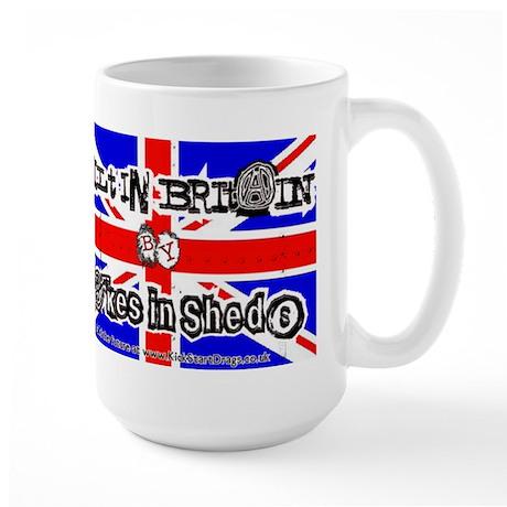 Blokes in Sheds Large Mug