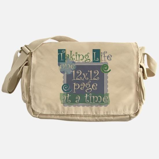 12x12 Messenger Bag