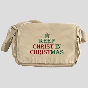 Keep Christ star Messenger Bag