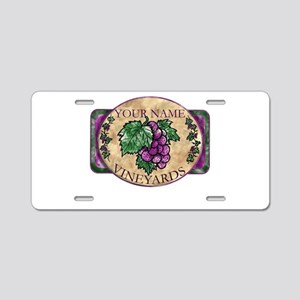 Your Vineyard Aluminum License Plate