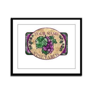 Your Vineyard Framed Panel Print