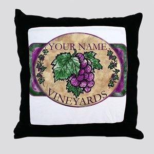 Your Vineyard Throw Pillow
