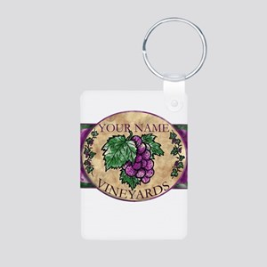 Your Vineyard Aluminum Photo Keychain