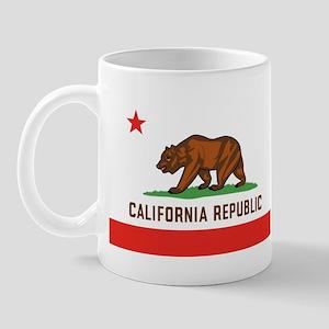 California State Bear Flag Mug