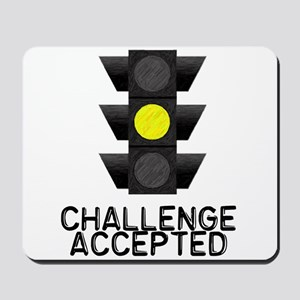 Challenge Accepted Yellow Lig Mousepad