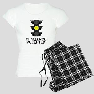Challenge Accepted Yellow Lig Women's Light Pajama