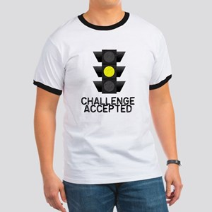 Challenge Accepted Yellow Lig Ringer T
