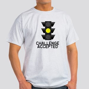 Challenge Accepted Yellow Lig Light T-Shirt
