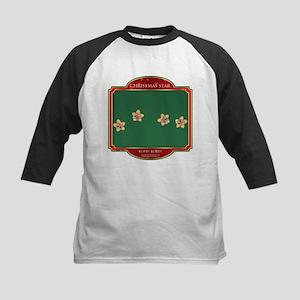 Topsy Turvy Stars - Christmas Kids Baseball Jersey