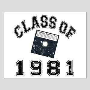 Class Of 1981 Computer Science Small Poster