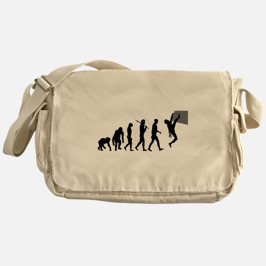 Climbers Rock Climbing Messenger Bag