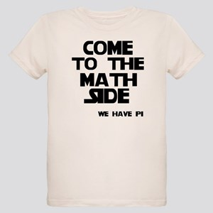 Come to the math side Organic Kids T-Shirt