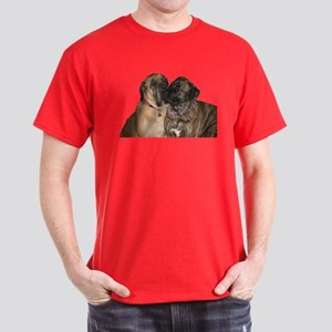 Mastiff Dad Dark T-Shirt