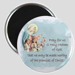 Pray for Us Magnet
