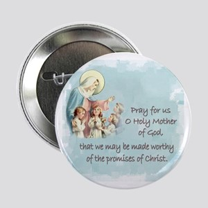 "Pray for Us 2.25"" Button"
