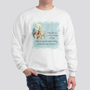 Pray for Us Sweatshirt