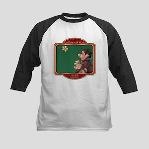 Believe - Christmas Star Kids Baseball Jersey