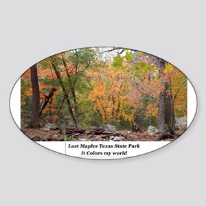 Lost Maples 002 Sticker
