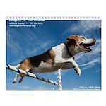 Beagles to the Rescue Wall Calendar