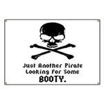 Pirate Looking For Booty Banner