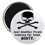 Pirate Looking For Booty Magnet
