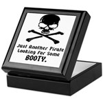 Pirate Looking For Booty Keepsake Box
