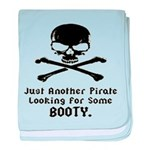 Pirate Looking For Booty baby blanket