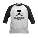 Pirate Looking For Booty Kids Baseball Jersey