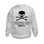 Pirate Looking For Booty Kids Sweatshirt