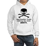 Pirate Looking For Booty Hooded Sweatshirt
