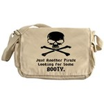 Pirate Looking For Booty Messenger Bag