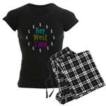 Key West Time Women's Dark Pajamas