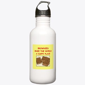 brownies Stainless Water Bottle 1.0L