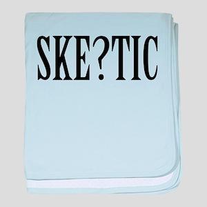 Skeptic baby blanket