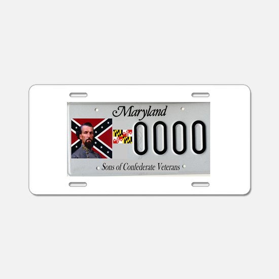 Funny Rebel Aluminum License Plate