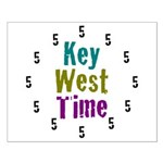 Key West Time Small Poster