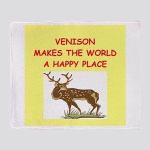 venison Throw Blanket