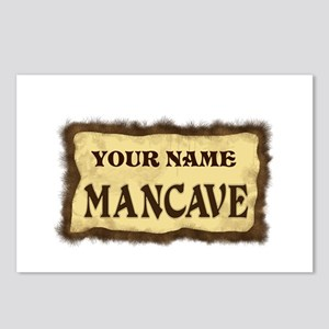 Mancave Sign Postcards (Package of 8)
