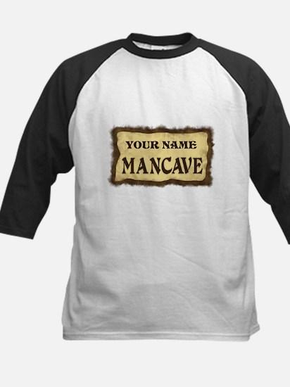 Mancave Sign Kids Baseball Jersey