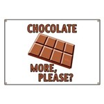 Chocolate - More Please? Banner