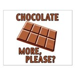 Chocolate - More Please? Small Poster