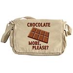 Chocolate - More Please? Messenger Bag