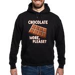 Chocolate - More Please? Hoodie (dark)