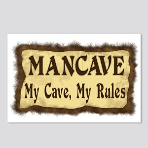 I Rule My Cave Postcards (Package of 8)