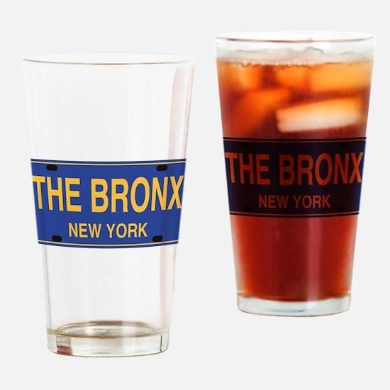 Funny Bronx Drinking Glass