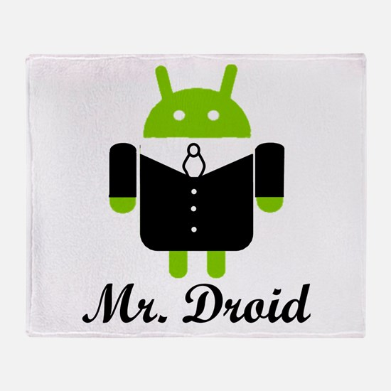 Unique Android Throw Blanket